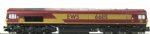 Dapol ND201C Class 66 diesel in EWS livery. Powered